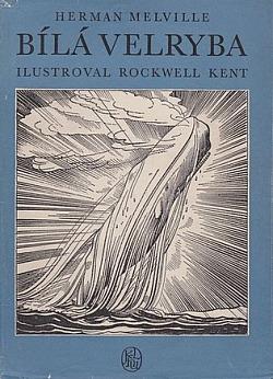 Bílá velryba obálka knihy