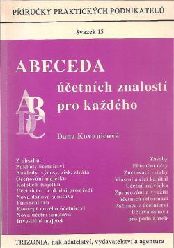 Abeceda účetních znalostí pro každého obálka knihy