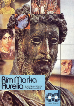 Řím Marka Aurelia obálka knihy