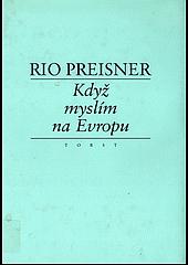 Když myslím na Evropu II. obálka knihy