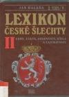 Lexikon české šlechty II.