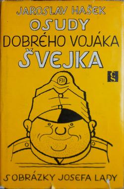 Osudy dobrého vojáka Švejka 1. díl obálka knihy