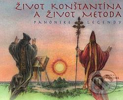 Život Konštantína a život Metoda obálka knihy