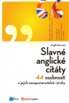Slavné anglické citáty obálka knihy