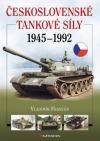 Československé tankové síly 1945 - 1992 obálka knihy