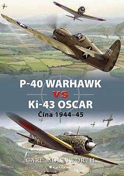 P-40 Warhawk vs Ki-43 Oscar - Čína 1944-45 obálka knihy