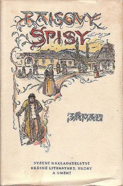 Západ obálka knihy