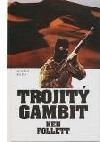 Trojitý gambit obálka knihy