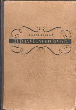 Hudba věčného života obálka knihy