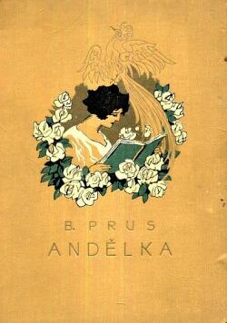 Andělka obálka knihy