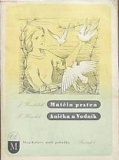 Matčin prsten / Anička a Vodník obálka knihy