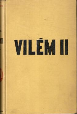 Vilém II. obálka knihy