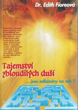 Tajemství zbloudilých duší obálka knihy