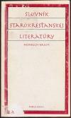 Slovník starokresťanskej literatúry