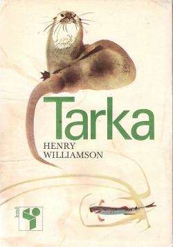 Vodní poutník Tarka obálka knihy