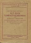 Zlý duch Lumpacivagabundus aneb Ludrácký trojlístek: Kouzelná fraška ve třech jednáních