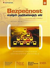 Bezpečnost malých počítačových sítí obálka knihy