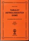 Tabulky astrologických domů pro zeměpisné šířky od +45° do +54°