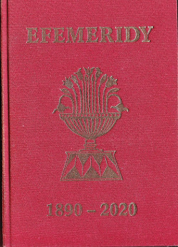 Efemeridy pro astrology 1890-2020 obálka knihy