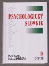 Psychologický slovník obálka knihy