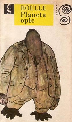Planeta opic obálka knihy
