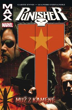 Punisher: Muž z kamene obálka knihy