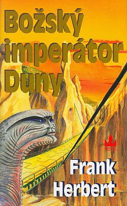 Božský imperátor Duny obálka knihy