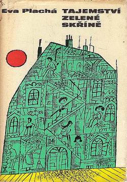Tajemství zelené skříně obálka knihy