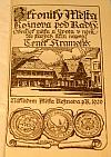 Z kroniky města Rožnova pod Radhoštěm