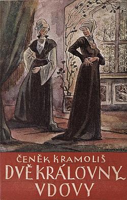 Dvě královny vdovy obálka knihy