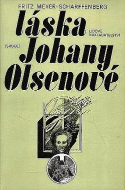 Láska Johany Olsenové obálka knihy