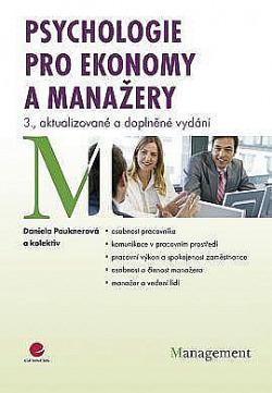 Psychologie pro ekonomy a manažery obálka knihy