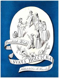 Svatá holčička obálka knihy