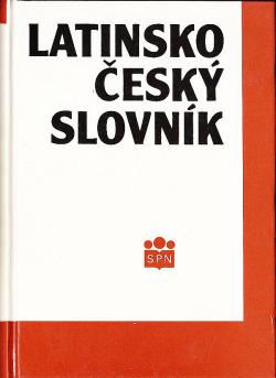 Latinsko český slovník obálka knihy