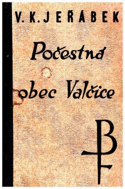 Počestná obec Valčice s okolím obálka knihy