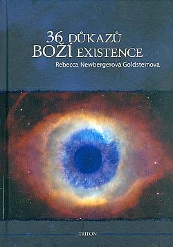 36 důkazů boží existence. Fiktivní příběh obálka knihy