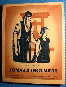 Tomáš a jeho mistr obálka knihy