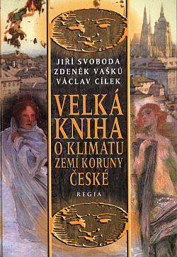 Velká kniha o klimatu zemí Koruny české obálka knihy