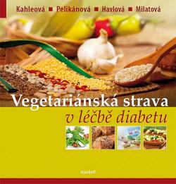 Vegetariánská strava v léčbě diabetu obálka knihy