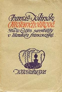 Melancholikové obálka knihy
