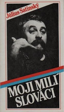Moji milí Slováci obálka knihy