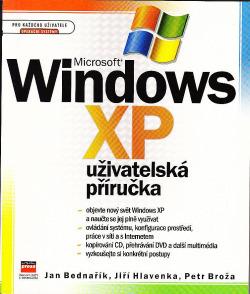 Microsoft Windows XP – Uživatelská příručka obálka knihy