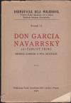 Don Garcia Navarrský čili Žárlivý princ