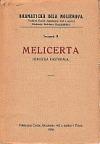Melicerta : heroická pastorála