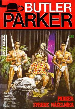 Parker svrhne náčelníka obálka knihy