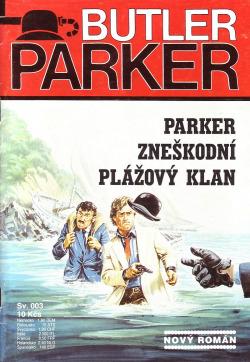 Parker zneškodní plážový klan obálka knihy
