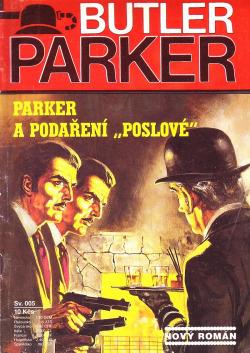 """Parker a podaření """"poslové"""" obálka knihy"""