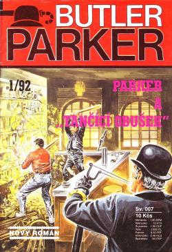 """Parker a """"tančící obušek"""" obálka knihy"""