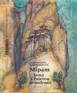 Mipam - lama s paterou moudrostí obálka knihy