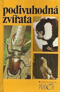 Podivuhodná zvířata obálka knihy